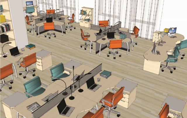 Модульная мебель Арт Мобил в интерьере (Офис)