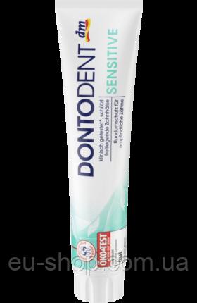 Зубная паста DontoDent Sensitive 125 мл, фото 1