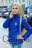 Стильная женская куртка Шанель стойка