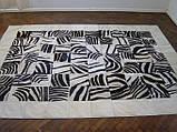 Килими з малюнком зебри, килими під замовлення, фото 2