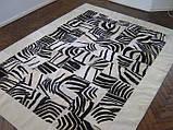 Килими з малюнком зебри, килими під замовлення, фото 3