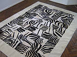 Ковры с рисунком зебры, ковры под заказ, фото 3