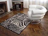 Ковры с рисунком зебры, ковры под размер, фото 2