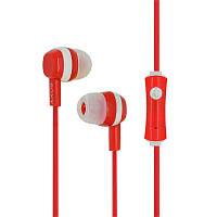 Наушники HF MP3 Sony EX-24 Red with mic