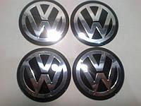 Наклейка выпуклая на колпачок диска Volkswagen 65 мм под силиконом
