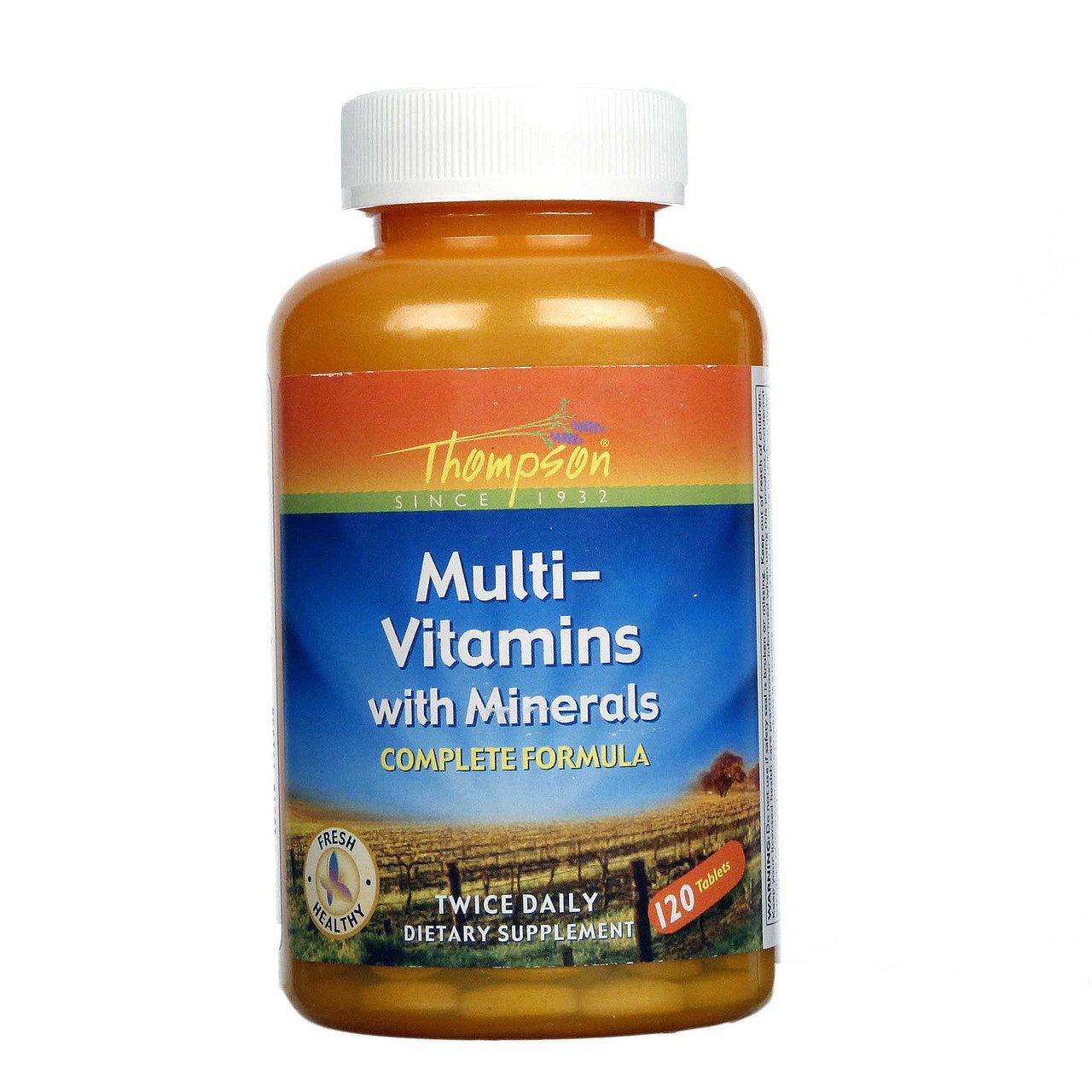 Витамины Thompson Multi-Vitamin with Minerals 120 таблеток