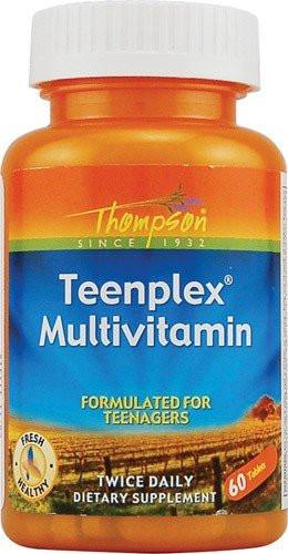 Витамины Thompson Teenplex для спорт подростков 60 табл
