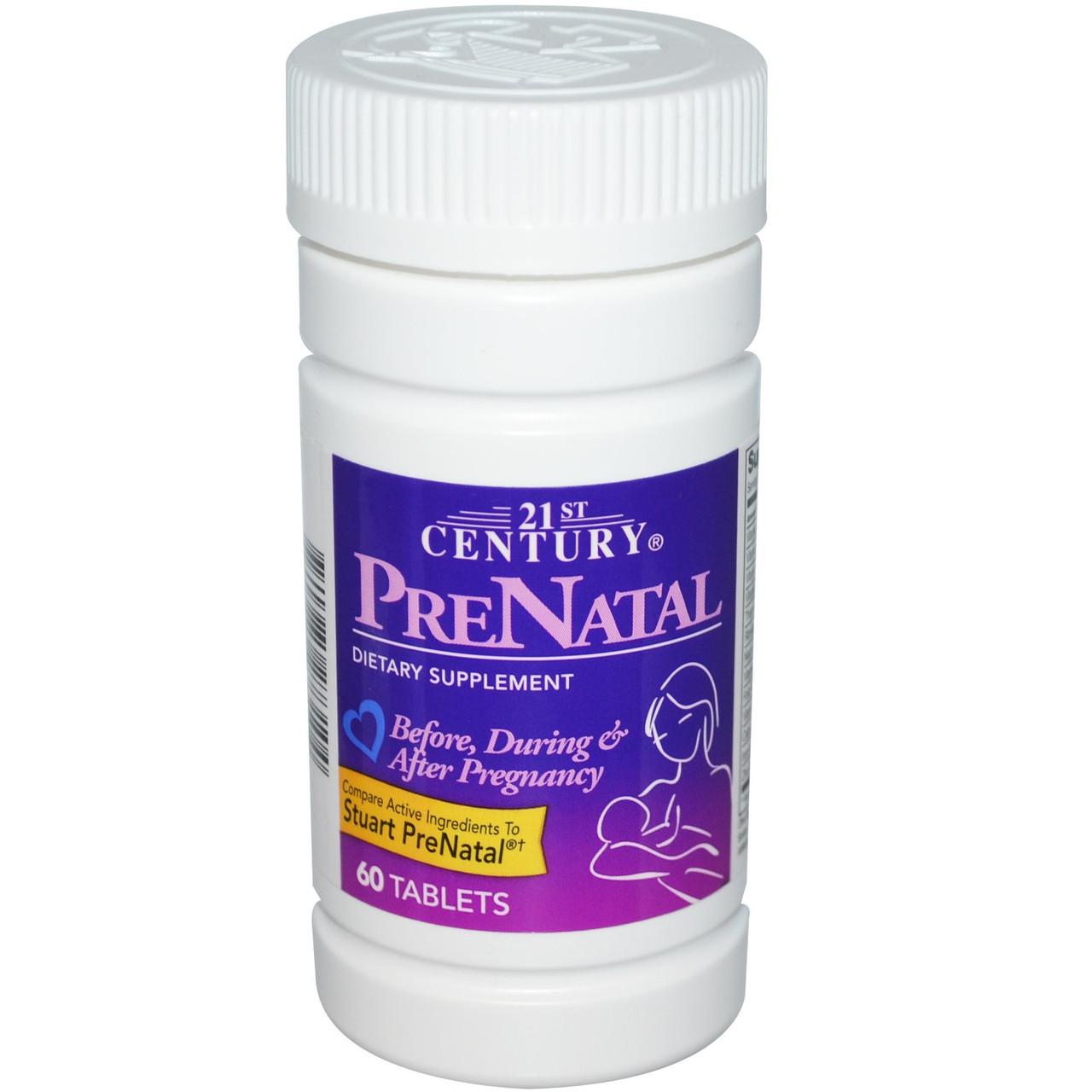Витамины для беременных и кормящих Prenatal 60т