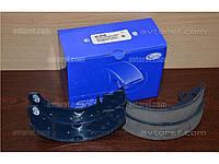 Колодки тормозные задние ВАЗ 2108-2110, Калина, Приора (компл. 4 шт.) (пр-во FriCo)