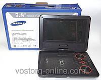 Портативний телевізор Samsung DA-738, екран 7,8 дюймів, +вбудований акумулятор