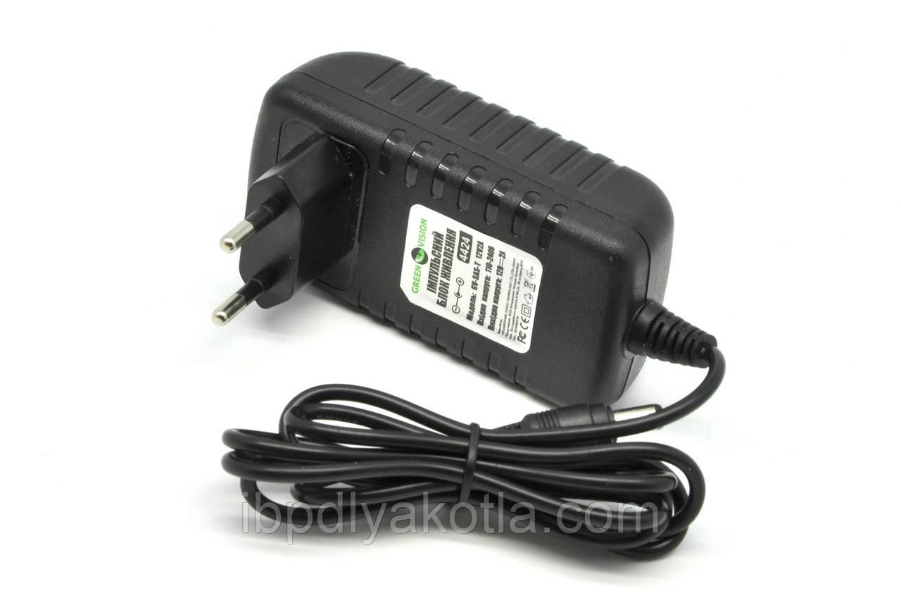 Импульсный адаптер питания Green Vision GV-SAS-T 12V2A (24W)