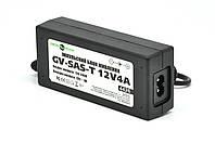 Импульсный адаптер питания Green Vision GV-SAS-T 12V4A (48W) с вилкой, фото 1