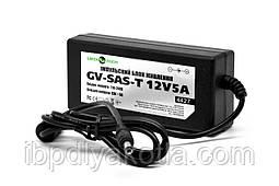 Імпульсний блок живлення Green Vision GV-SAS-T 12V5A (60W) з вилкою