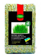 Рожь для проращивания, отваров и настоев органическая, Украина, 400 г, ORGANIC COUNTRY