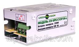 Імпульсний блок живлення Green Vision GV-SPS-C 12V1A-L(12W)