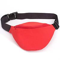 Красная поясная сумка, фото 1