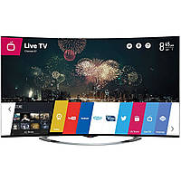 Телевизор LG OLED55EC970V (Ultra HD 4K, Smart, Wi-Fi, 3D, Magic Remote, изогнутый экран)