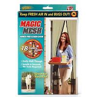 Сетка антимоскитная Magic Mash190*100 черная