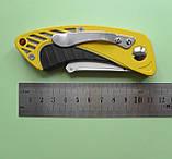 Нож строительный складной с трапециевидным лезвием, фото 4