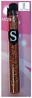 Блестки для дизайна ногтей SALON Professional присыпка Салон №28
