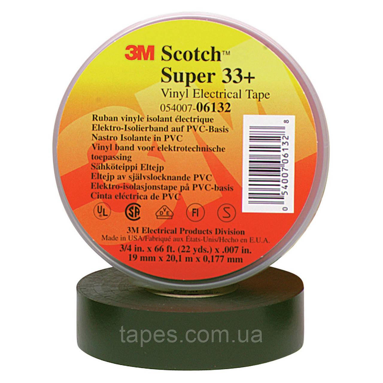 Изолента 3M Супер 33+ (19мм x 20,1м)