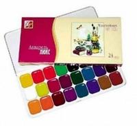 Набор акварельных красок Люкс 24цв, Луч