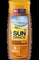 SUNDANCE Carotin Sonnenmilch LSF 6, 200 ml -  Молочко для загара с каротином фактор защиты 6, 200 мл