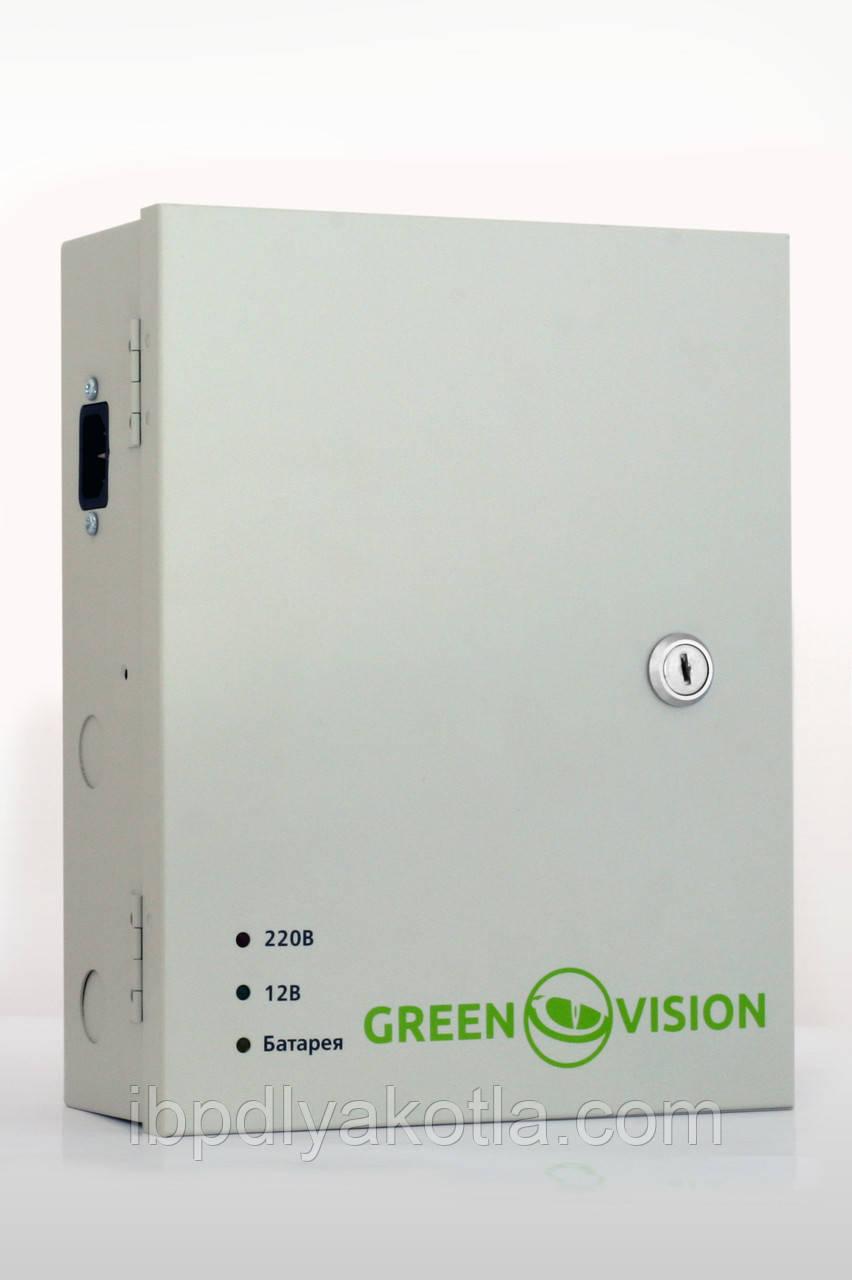 Блок бесперебойного питания Green Vision GV-UPS-H 1218-10A-B