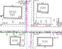 «П'ятисотка» — Топографічний план масштабу 1:500