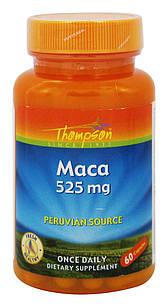 Мака перуанская ПОТЕНЦИЯ+ Maca 525 mg, 60 капс Lepidium США