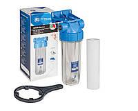 """Магистральный фильтр 1/2"""" механической очистки""""Aquafilter"""" для холодной воды Slim10"""""""