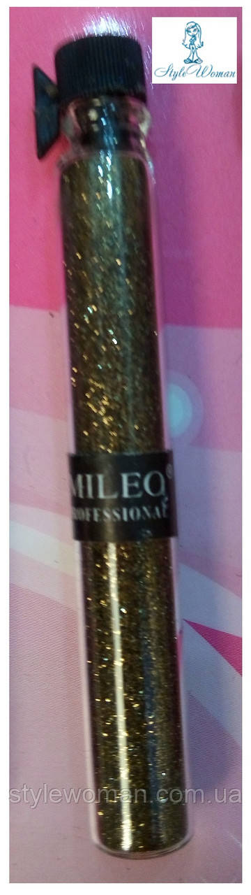 Блестки для дизайна ногтей Mileo Professional присыпка Милео №3