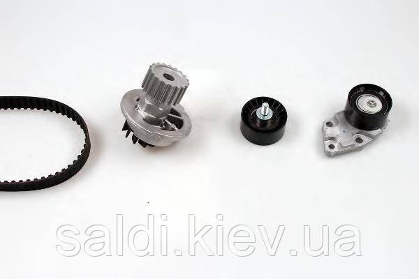 Комплект ремня ГРМ + помпа HEPU 1.4 1.6 PK07950 Киев