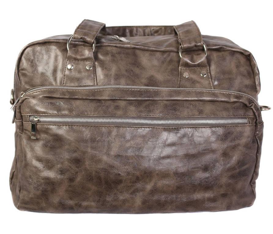 Стильная дорожная сумка цвета грандж