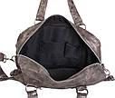 Стильная дорожная сумка цвета грандж, фото 9