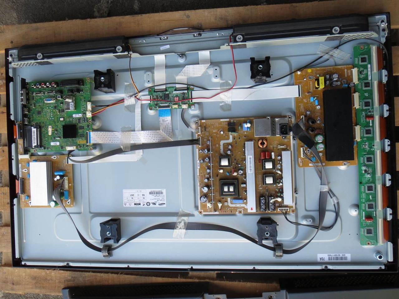 """Плазма 42"""" Samsung PS-42C450 на запчасти (BN94-03257G, BN40-00173A, BN44-00329A BN94-00330A)"""