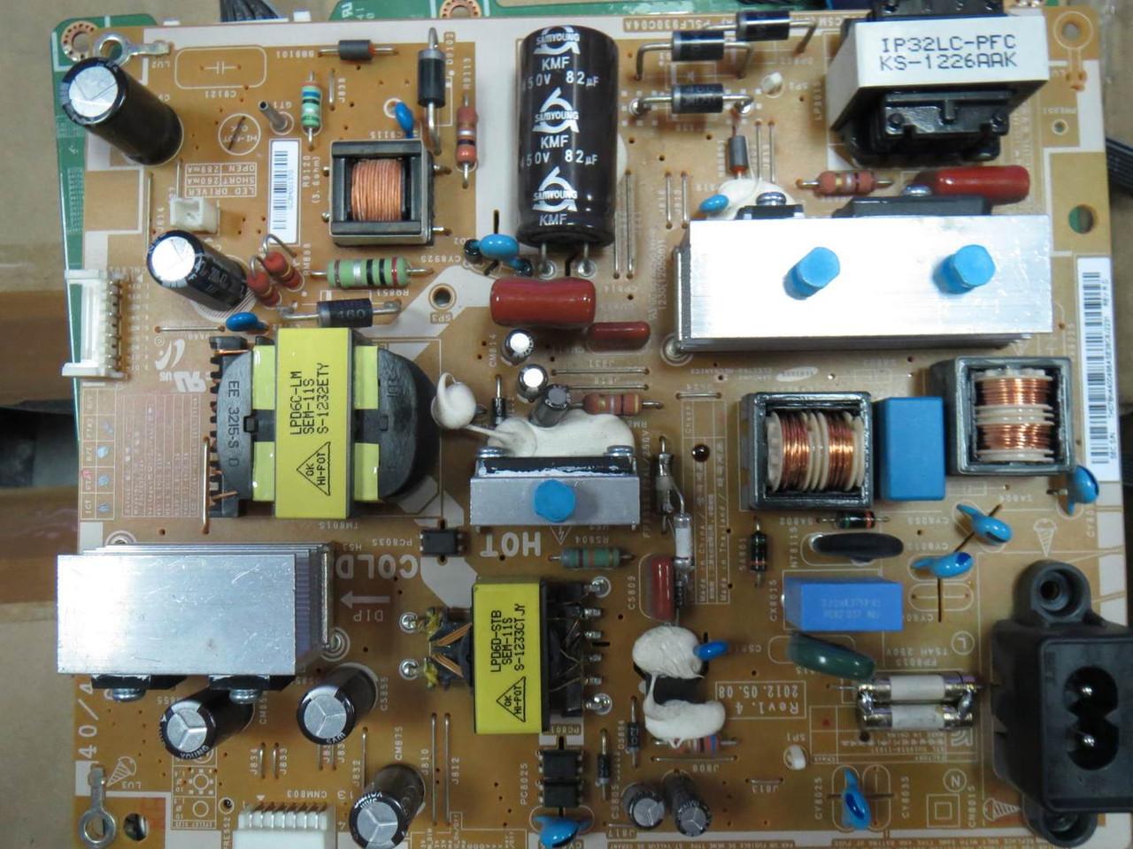 Телевизор Samsung UE40EH5307 на запчасти (BN44-00498A только бп остался)