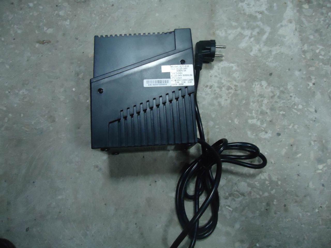 Компактный ИБП Powercom iCute ICT-530 250 Вт УПС на запчасти, фото 1