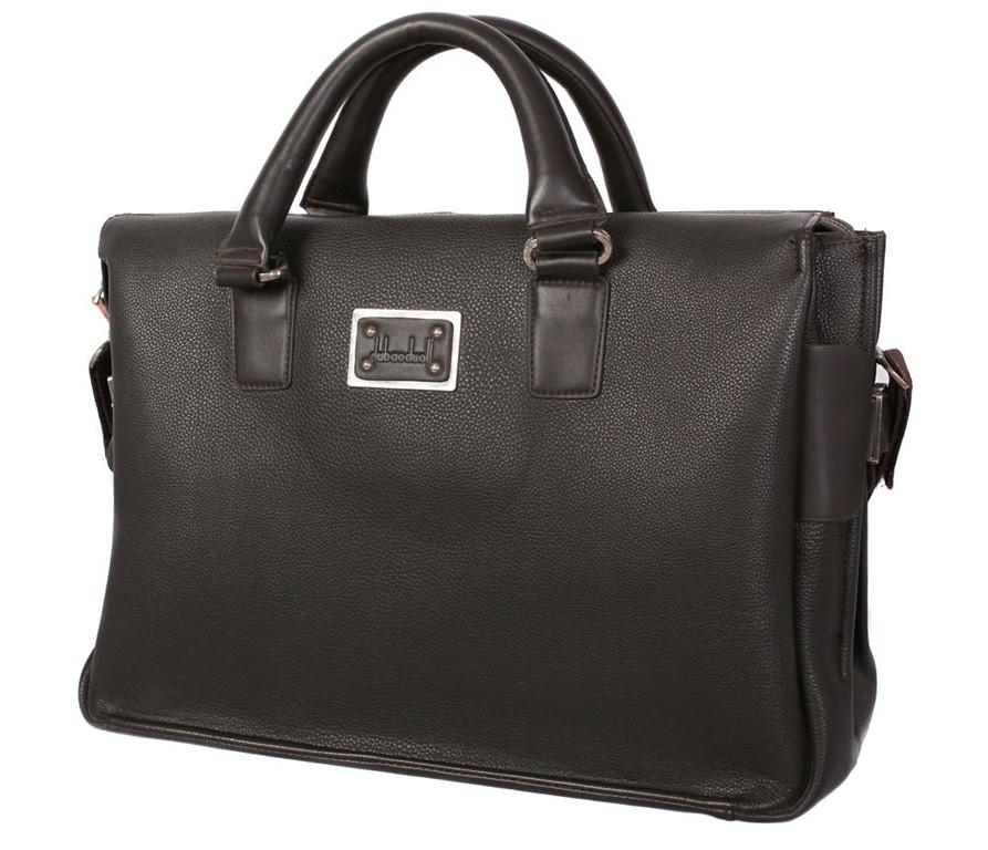 Дорожная сумка темно коричневого цвета 30404