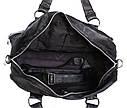 Стильная дорожная сумка из кожзаменитьля, фото 7