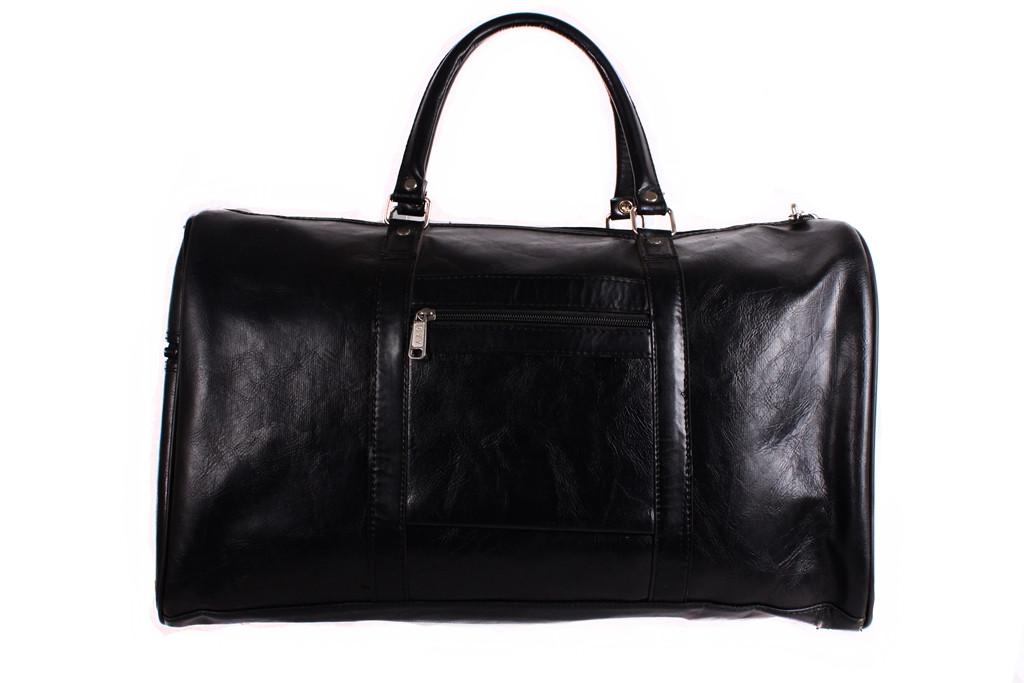 Дорожная сумка черного цвета унисекс