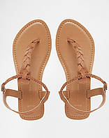 Кожаные женские сандалии NewLook, фото 1