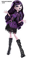Большая кукла монстр хай Элизабет 42см, Monster High Frightfully Tall Ghouls Elissabat Doll