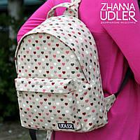 Рюкзак сердечки, фото 1