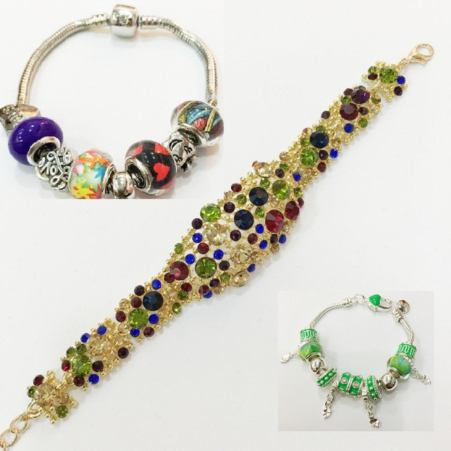 летние украшения - браслеты