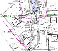 Топосъемка в крупном (1:50 — 1:2000) и мелком (1:5000) масштабах, включая топосъемку подземн. коммун