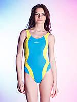 Яркий слитный купальник BW 724 для бассейна (S-M), фото 1