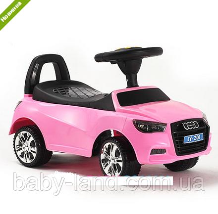 Каталка-толокар дитяча Audi(ауді) M 3147A-8,рожева