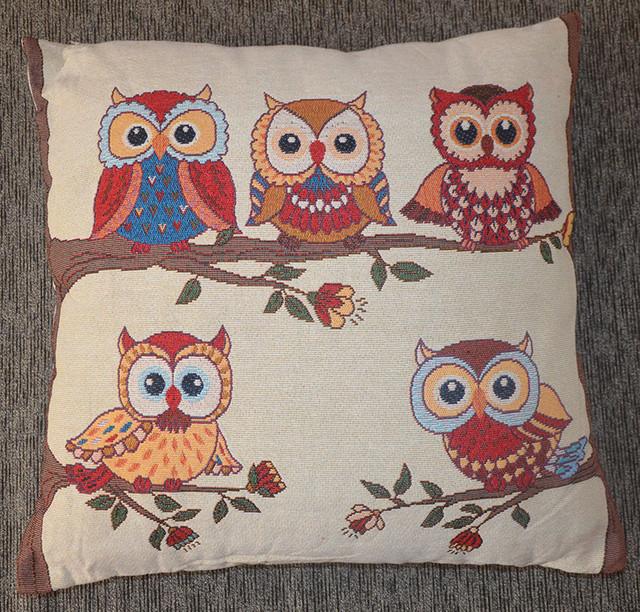 Декоративная гобеленовая подушка