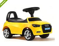 Каталка-толокар детская Audi(ауди) 3147A-6 желтая